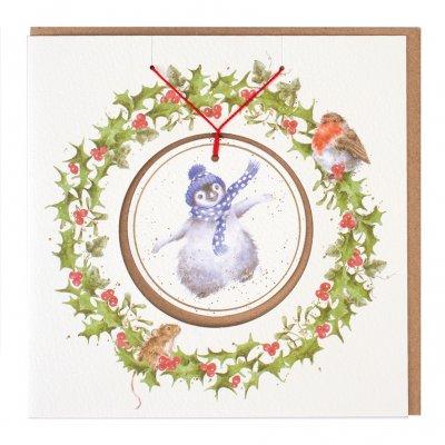 'Winter Wonderland' Christmas Decoration card