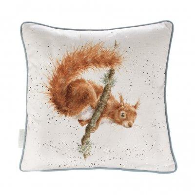 'The Acrobat' Squirrel Cushion