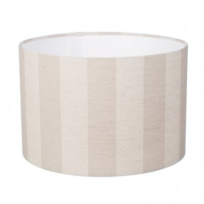 Large Brown Striped Lampshade