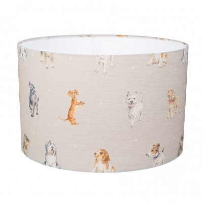 Large dog design lampshade