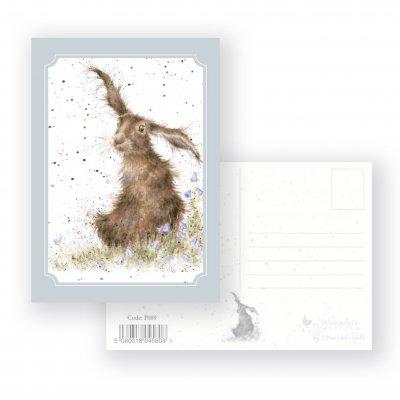 P089 'Harebells' Postcard