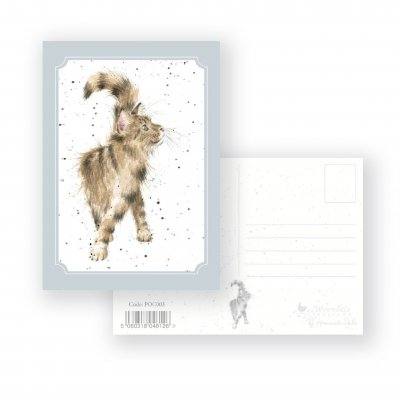 PCOC003 'Just Purrfect' Postcard