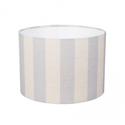 Small Blue Striped Lampshade