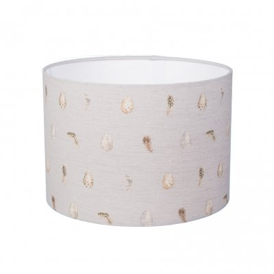 Small Egg & Feather Lampshade